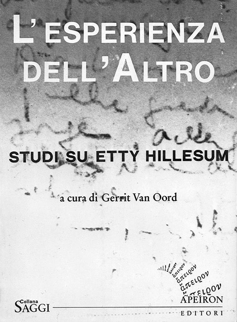 L'esperienza dell'Altro. Studi su Etty Hillesum