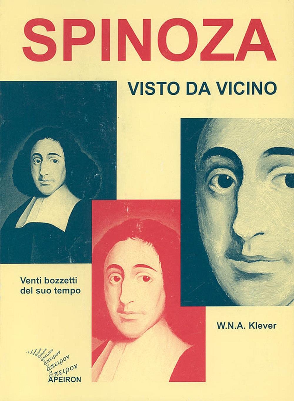 Spinoza visto da vicino. Venti bozzetti del suo tempo